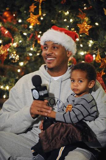 A VERY MELO CHRISTMAS WITH CARMELO AND KIYAN