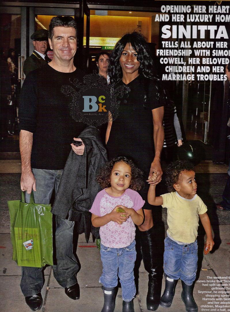 Kids And Teens Miss World The Most Beautiful Woman In The: SINITTA'S FESTIVE HOLIDAY WITH KIDS AND SIMON COWELL
