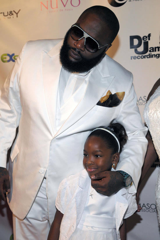 RICK ROSS CELEBRATES HIS BIRTHDAY WITH DAUGHTER