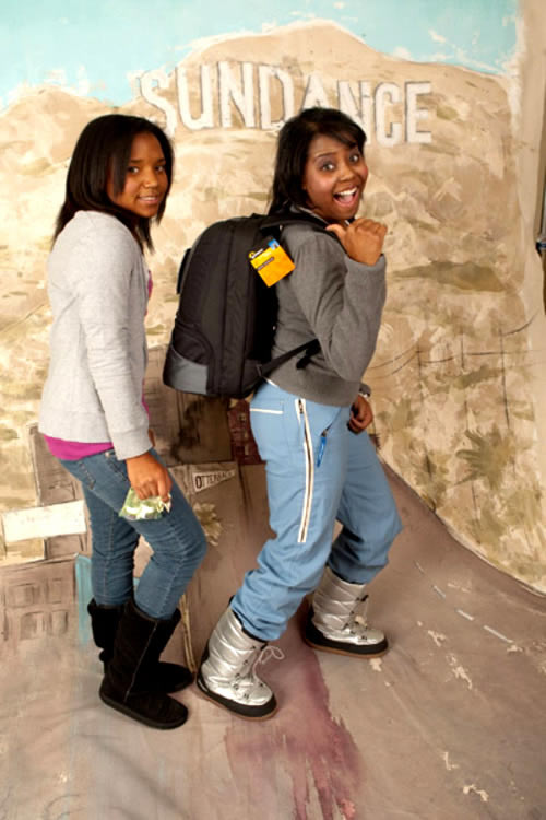 SHAR JACKSON AND DAUGHTER GOOF OFF