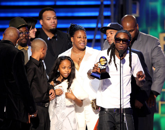 LIL WAYNE AND FAMILY AT GRAMMYS;MORE PICS WITH JAMIE FOXX ...