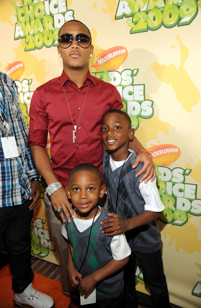MASTER P'S KIDS AT KIDS CHOICE AWARDS(2009)