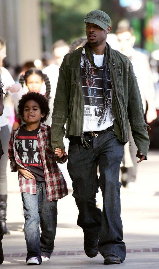 marlon wayans and son in a rush