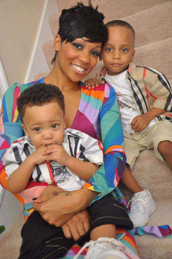 Monica And Her Boys Are All Smiles Even Lil Rocko Cracked
