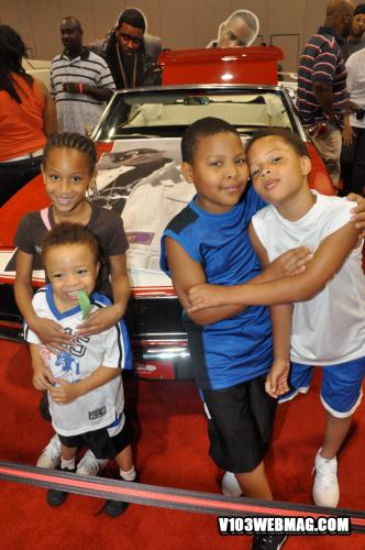 The Harris Kids Attend V103 S Bike Show See Home