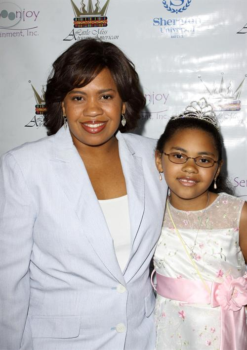 CHANDRA WILSON AND HER LITTLE MISS PAGEANT