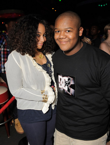 Raven Symone and Kyle