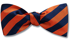 Alumni Stripe Navy - bow tie-$45.00