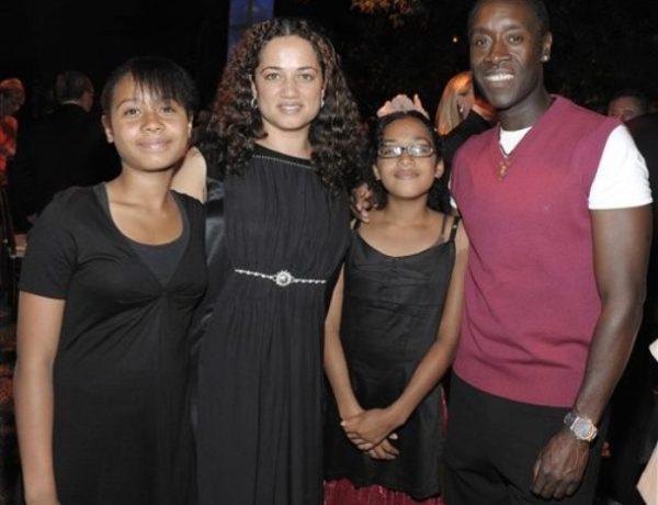 doncheadle and family