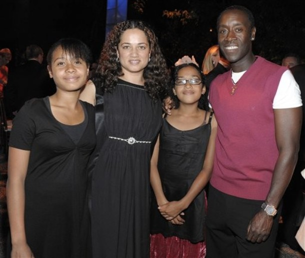 Don Cheadle - Bio, Net Worth, Actor, Married, Wife, Family ... |Don Cheadle Family 2014