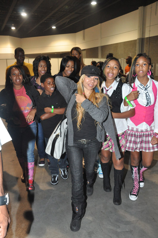 "Tiny ""Tameka Cottle"", Zonnique and Bahja"