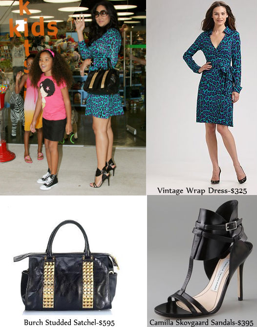 Celebrity Mom Style With Kimora Lee Simmons The Fab Mom