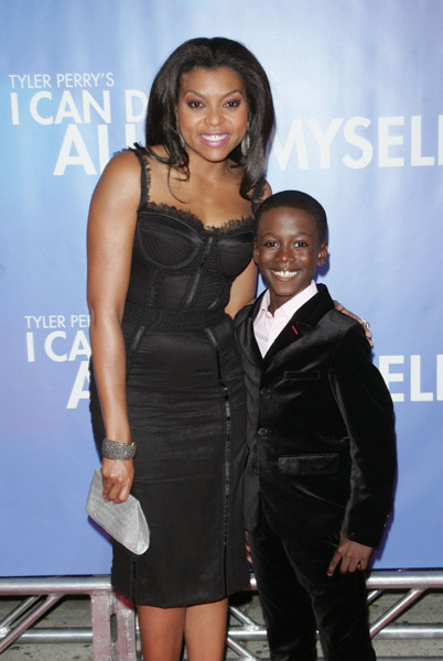 Kwesi and actress Taraji