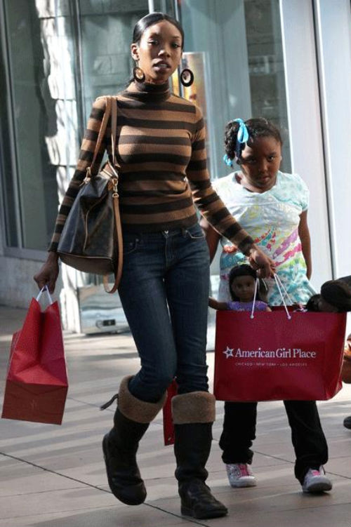 Shopping With Tichina Arnold Brandy And Their Girls