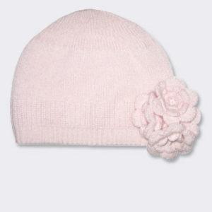 Cashmere flower hat-$98.00