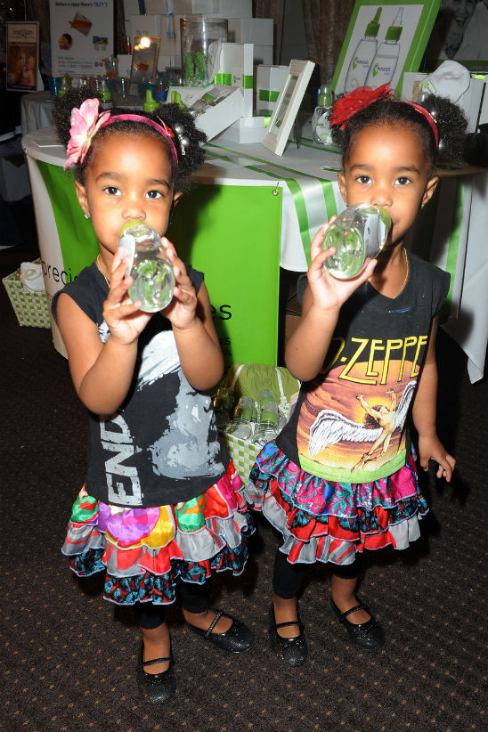 kim porter and the combs twins hit the boom boom room