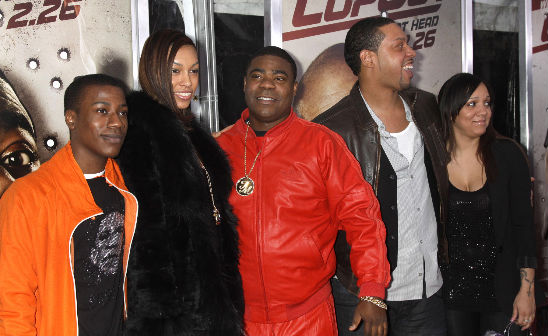 "TRACY MORGAN AND FAMILY ""COP OUT"""