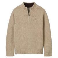 Budget Find- Boys' Cherokee® 1/4 Zip Sweater in Khaki-$10.48