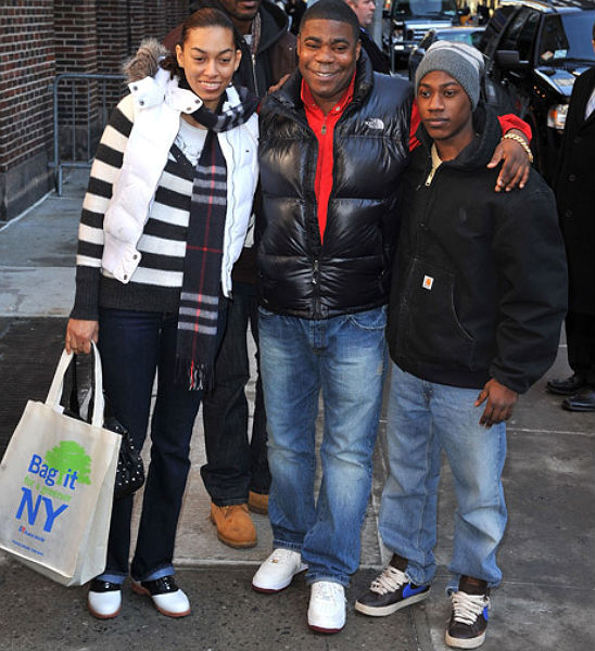 TRACY MORGAN CREDITS HIS TEEN SON FOR SAVING HIS LIFE