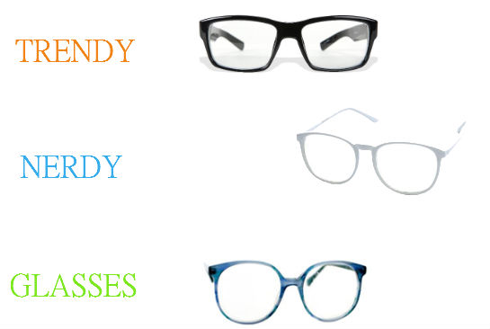 big glasses frames trend ze3s  Geek glasses come in square or round frames and can come in colors such as  black, blue or even gold Now that's nerdy, dude!