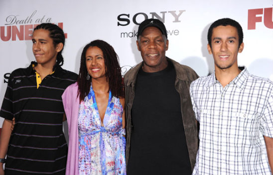 DANNY GLOVER AND HIS READY-MADE FAMILY