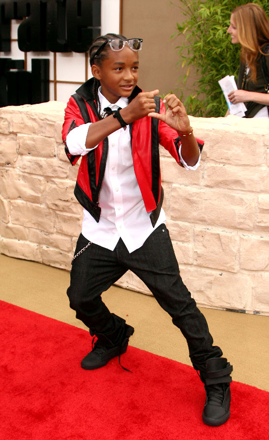 Jaden Smith Karate Kid Premiere
