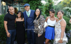 Smith family-Najee, Italia, LL, LL's mom, Samaria, and Simone