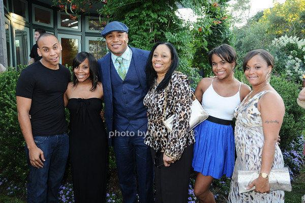 Smith family-Najee, Italia, LL, LL's mom, Samaria, and Simone