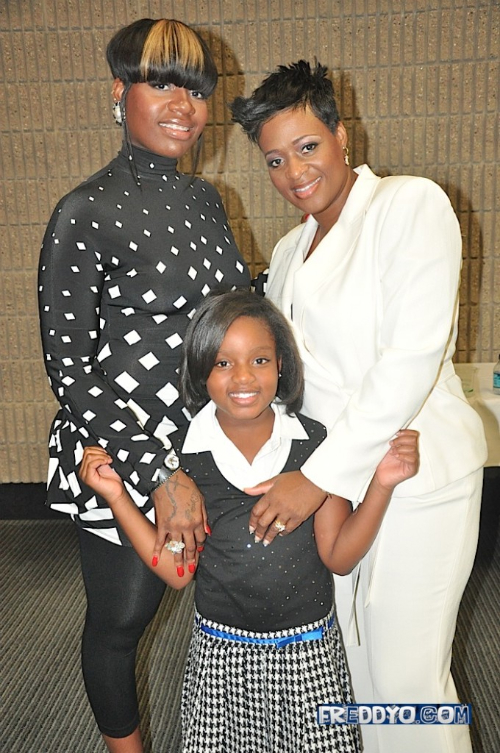 Fantasia, her daughter, and her mom