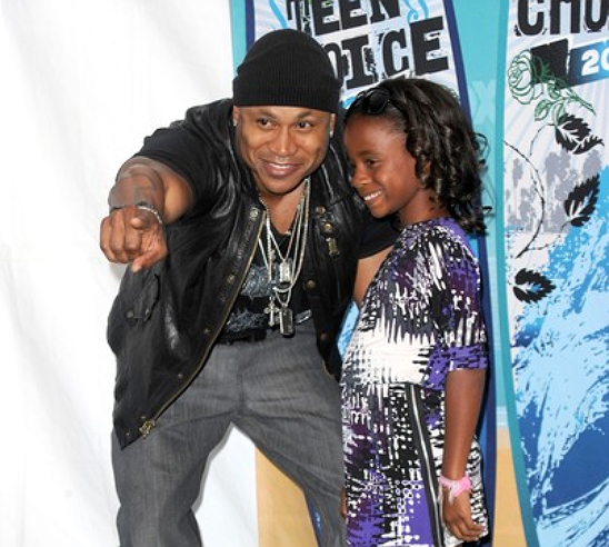 LL COOL J GETS INTERVIEWED BY HIS DAUGHTER