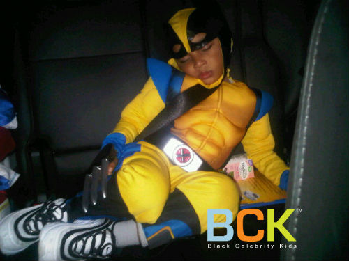 Wolverine is knocked out!