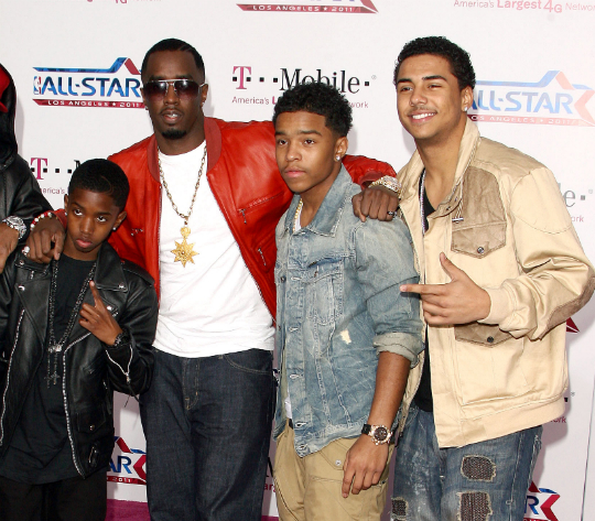 SEAN COMBS AND SONS: NBA ALL-STAR GAME