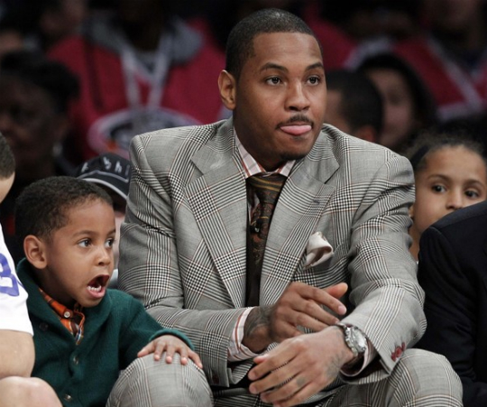Denver Nuggets Watch Party: CARMELO ANTHONY AND SON: NBA ALL-STAR WEEKEND