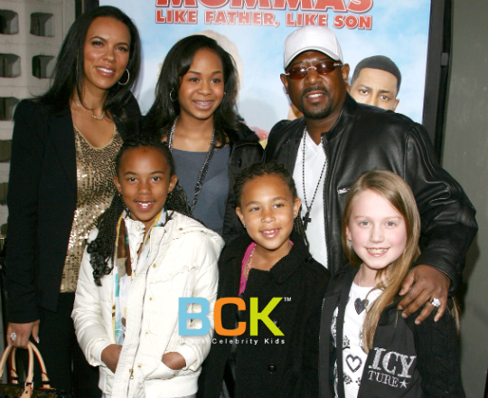 martin lawrence and family big mommas screening