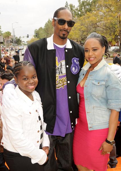 snoop dogg and family  kids u0026 39  choice awards 2011
