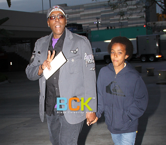 Arsenio Hall and His Son - Bing images