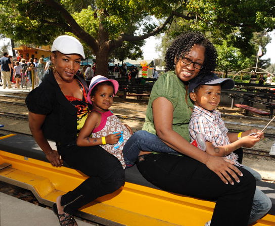 ANGELA BASSETT AND KIDS ARE EVENT PALS Jackie Christie Kids