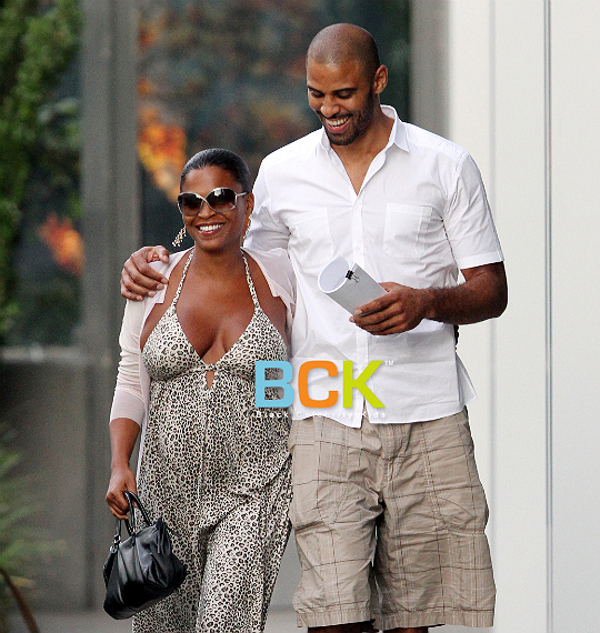 Bood Up ~ Nia Long & Her Baby Daddy (to be) Ime Udoka