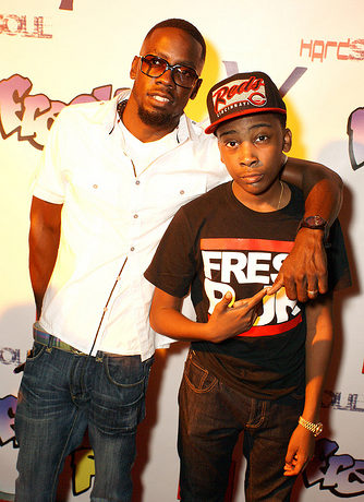 Fresh P and his manager