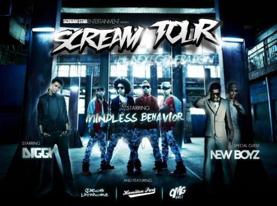 scream tour