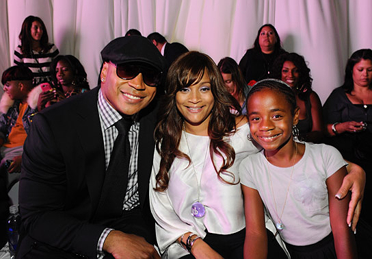 LL COOL J AND HIS FASHIONABLE FAMILY