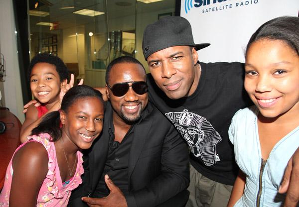 Malik Yoba And His Siriusxm Sidekicks