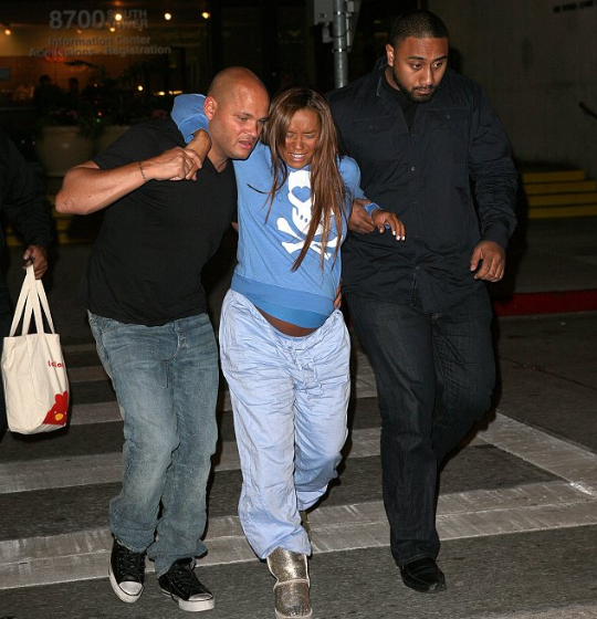 Melanie Being Rushed To The Hospital