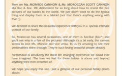 A note from Nick and Mariah