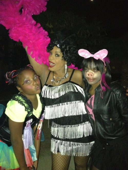 Sy'rai, Niecy Nash, and Dia