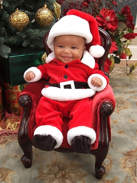 "BCK READERS' HOLIDAY PICTURES: ""SANTA, BABY"""