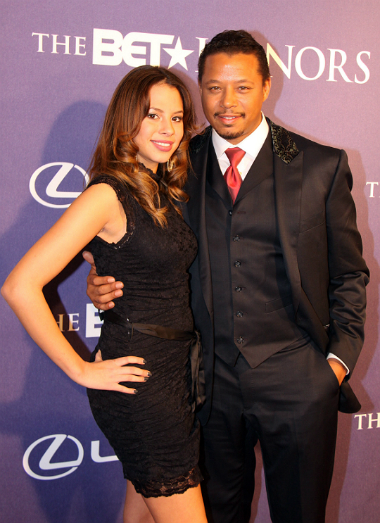 TERRENCE HOWARD AND HIS EVENT PAL