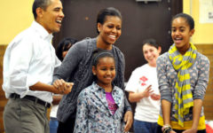 Sasha and Malia