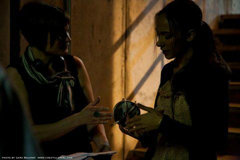 Aurora with director Liz