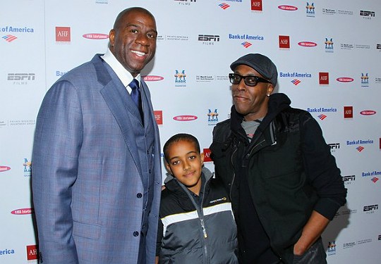 ARSENIO HALL AND HIS PREMIERE PAL